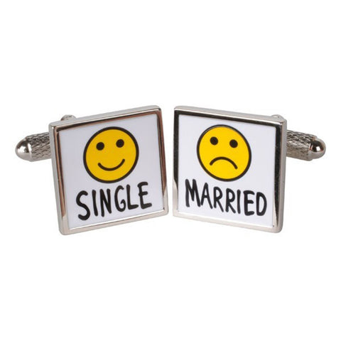 Single/Married Cufflinks
