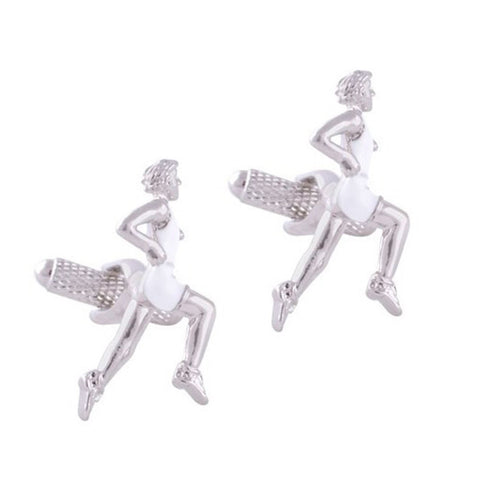 Athlete Runner Cufflinks