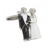 Novelty Wedding Couple Cufflinks