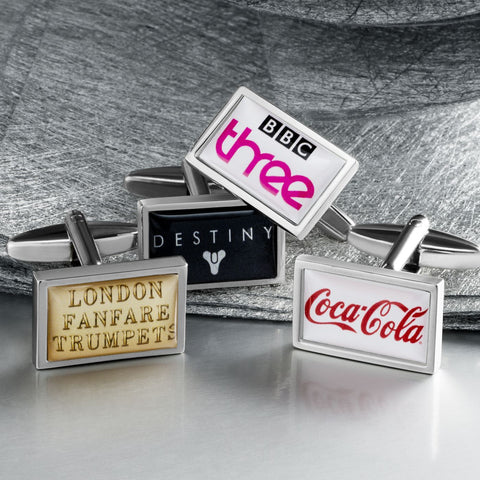 Personalised Rectangle Cufflinks