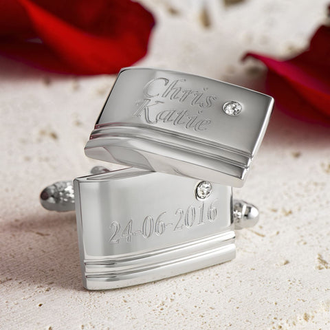 Names and Date Cufflinks
