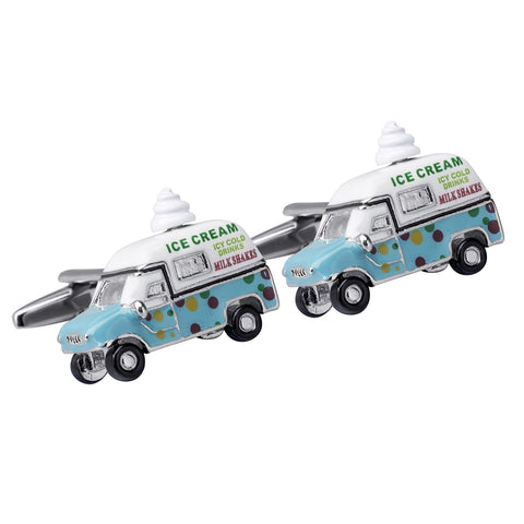 Ice Cream Van Cufflinks