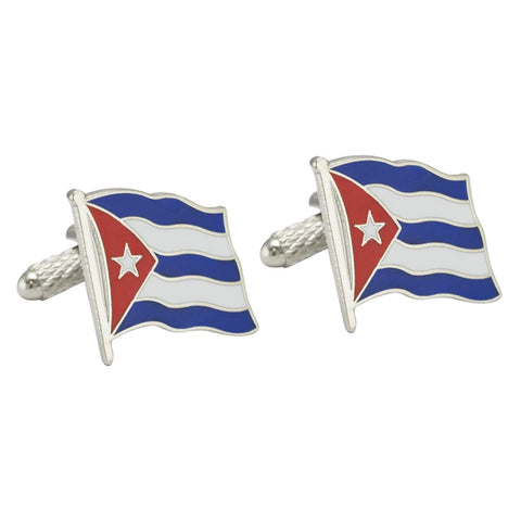 Cuban Flag Cufflinks