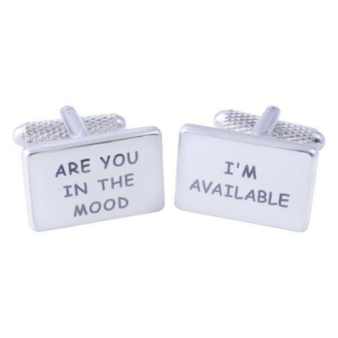 Are you in the mood cufflinks