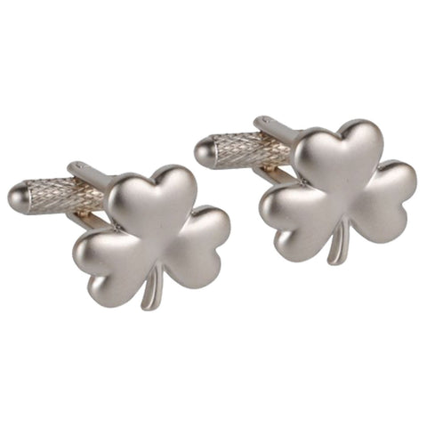 Three Leaf Clover Cufflinks