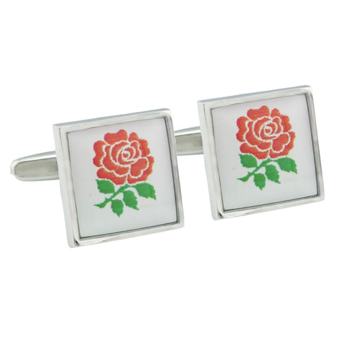 English Rose Cufflinks