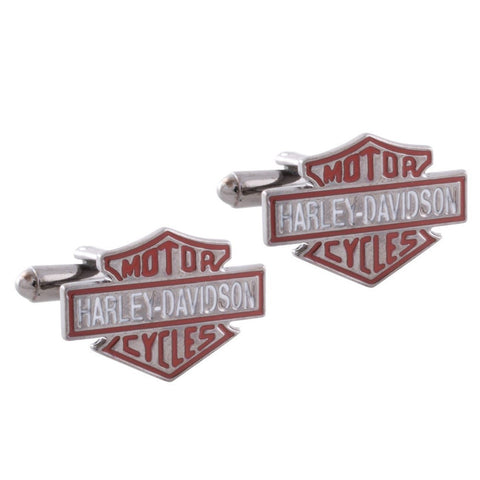 Harley Davidson Badge Cufflinks
