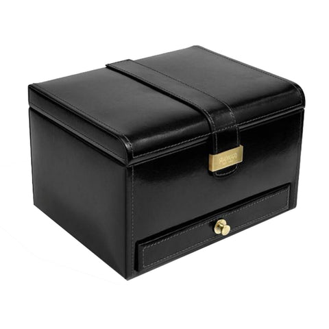 Heritage Black Luxury Watch & Cufflink Box