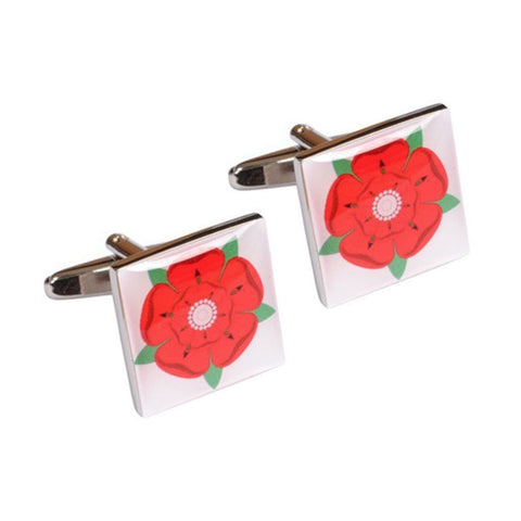 Lancashire Red Rose Cufflinks