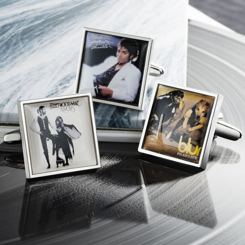 Personalised Album Cover Cufflinks