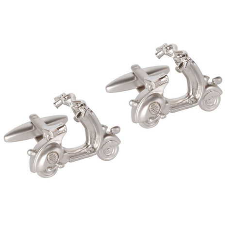 Chrome Scooter Cufflinks