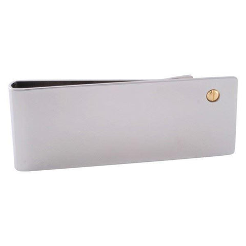 Stainless Steel Gold Corner Money Clip