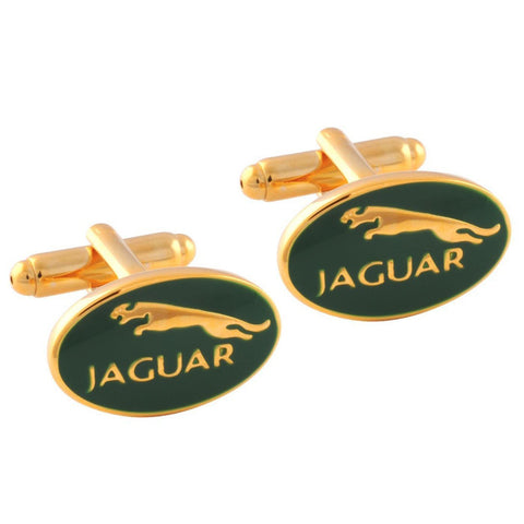 Jaguar Car Logo Cufflinks