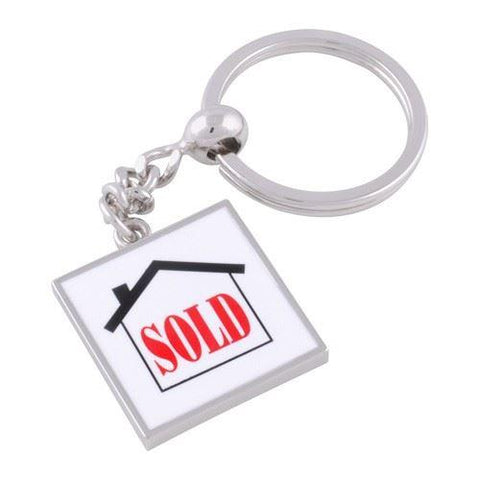 Sold Sign Keyring