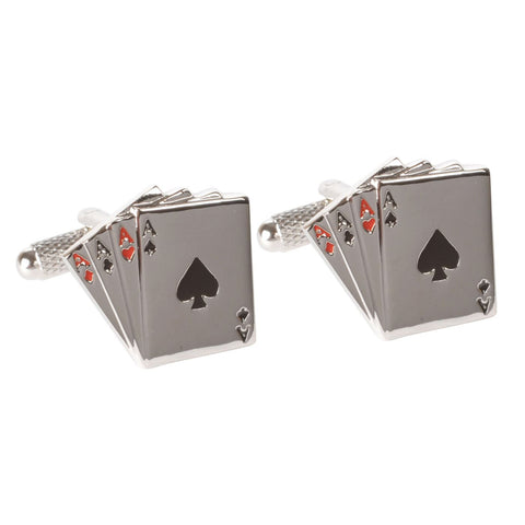 Four Aces Cufflinks