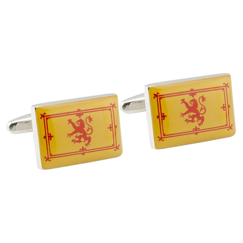 Royal Standard of Scotland Flag Cufflinks