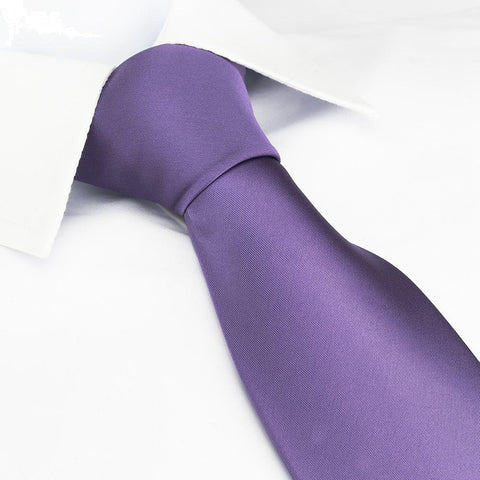 Plain Purple Tie