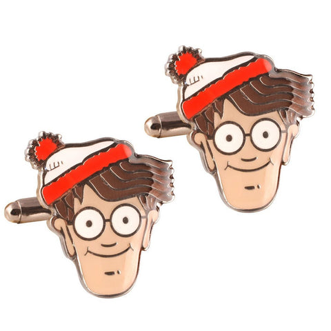 Where's Wally Cufflinks