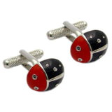Black Ladybird Cufflinks