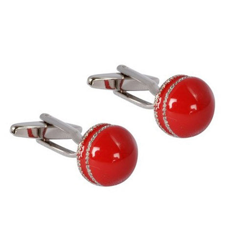 Cricket Ball Cufflinks