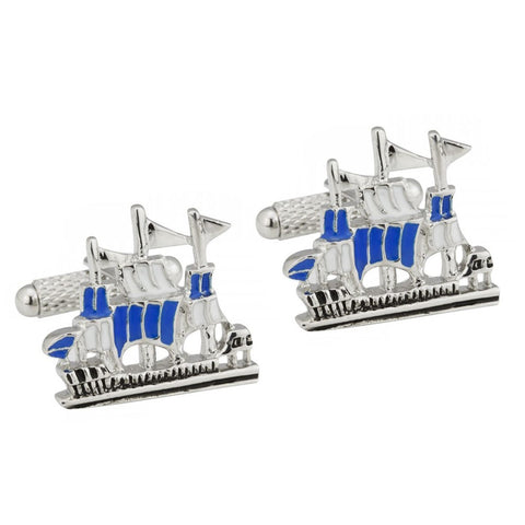 Armada Sailing Ship Cufflinks