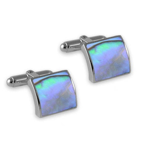 Sterling Silver Oyster Shell Cufflinks