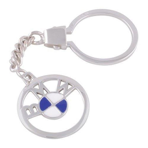 Sterling Silver Plated BMW Keyring