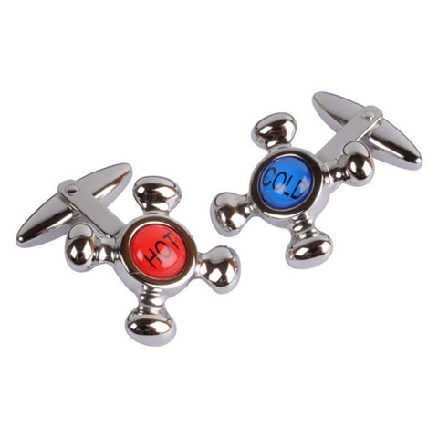 Cold & Hot Tap Cufflinks