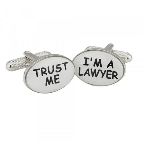 Trust Me I'm A Lawyer Cufflinks