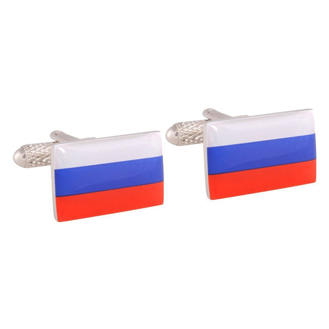 Russian Flag Cufflinks