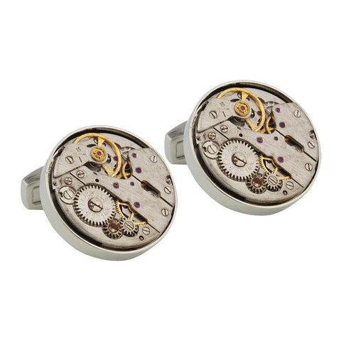 Vintage Watch Movement Cufflinks