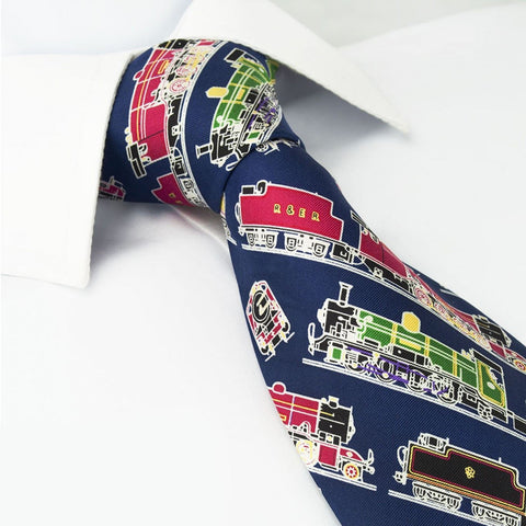 Locomotive Silk Tie