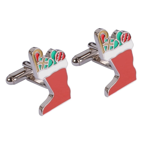 Christmas Stocking Cufflink
