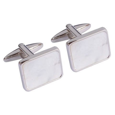 Pearl Squares Cufflinks