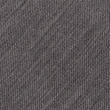 Plain Grey Wool Mix Tie