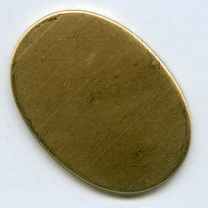 b9-0964-Brass cabochon setting for 45x30mm stone. Pkg of 1