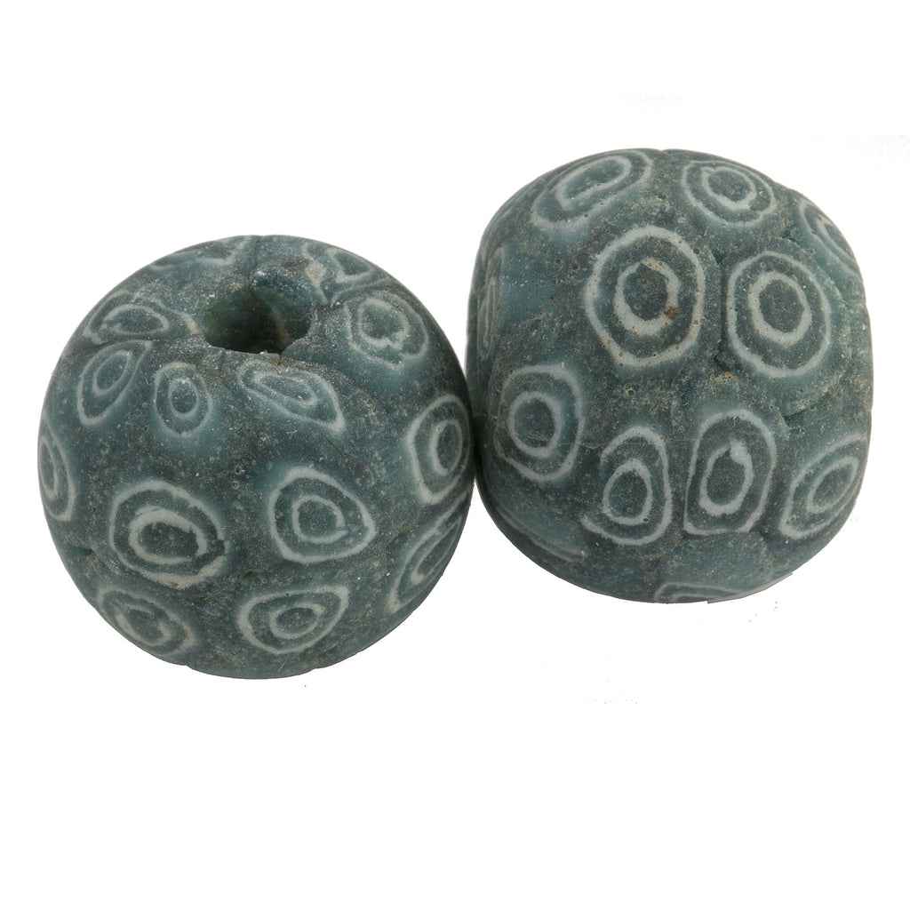 Ancient Indonesian Jatim bead replica. 19 - 20m. Sold individually.  b1-925