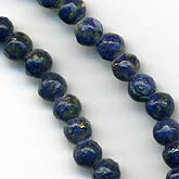 Vintage Lapis 3mm Bead. 16