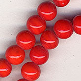 b11-rd-0705-Vintage 5mm opaque rounds. 5mm. Pkg of 10