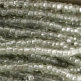 18th century French opalescent seed bead. 10 gram bag. Size 12. b17-047