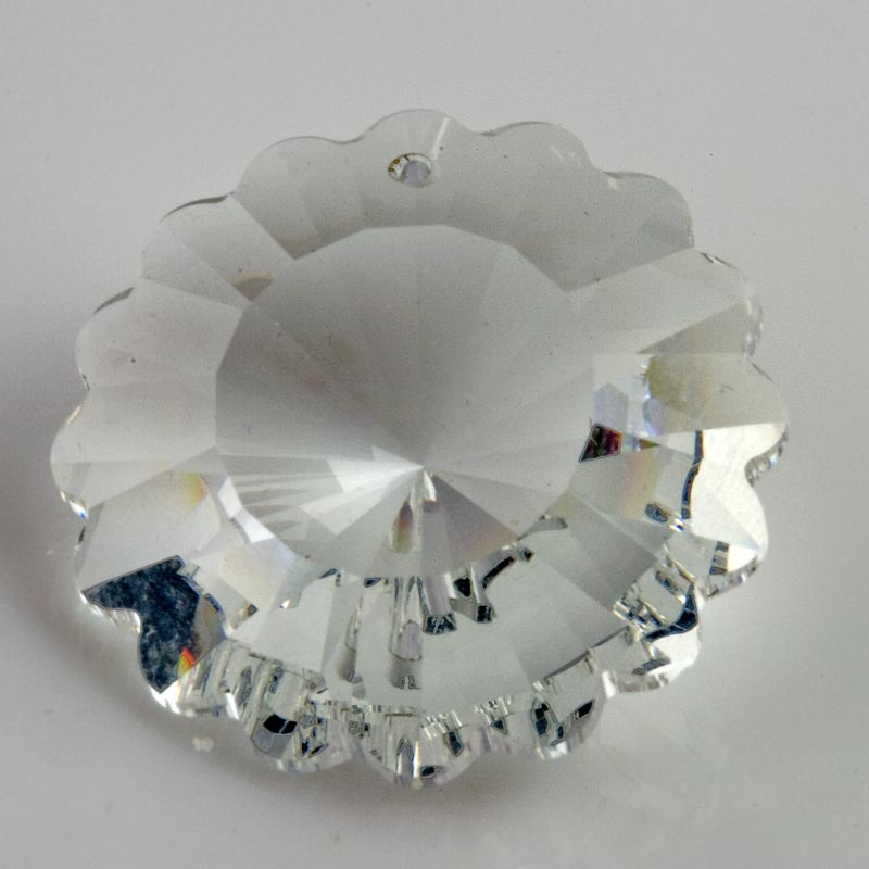Vintage Swarovski pendant crystal bead. Article 6701. 27mm Pkg of 1. b11-cr-0575(e)