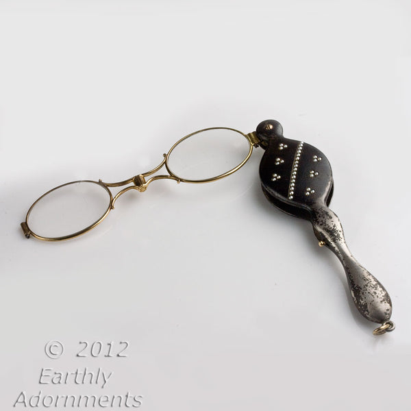 Antique Edwardian Lorgnette Opera Glasses. pdvc456(e)