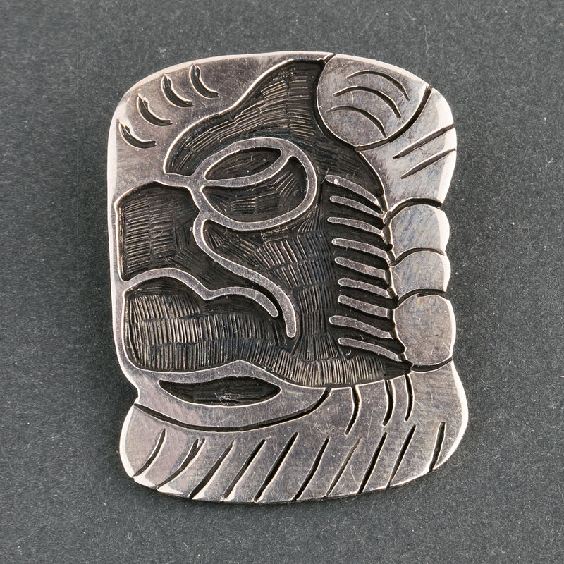 Maria Belen Nilson sterling silver Taxco Mexio pendant.  pdvs673