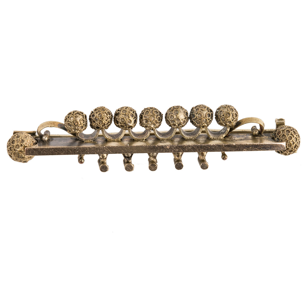 Victorian gold filled aesthetic period bar pin. pnvc1047