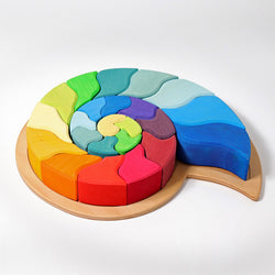 Grimms Building Set Ammonite - Number Play - The Modern Playroom