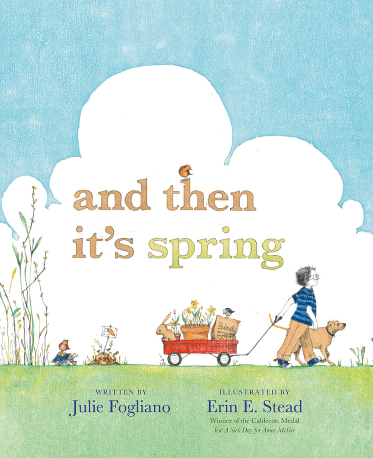 Books And Then It's Spring - Word Play - The Modern Playroom