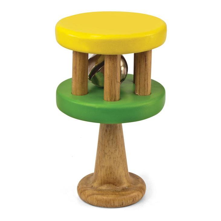 Green Tones Cage Bells - Music Play - The Modern Playroom