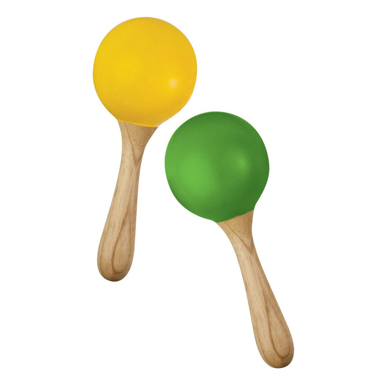 Green Tones Maracas - Music Play - The Modern Playroom