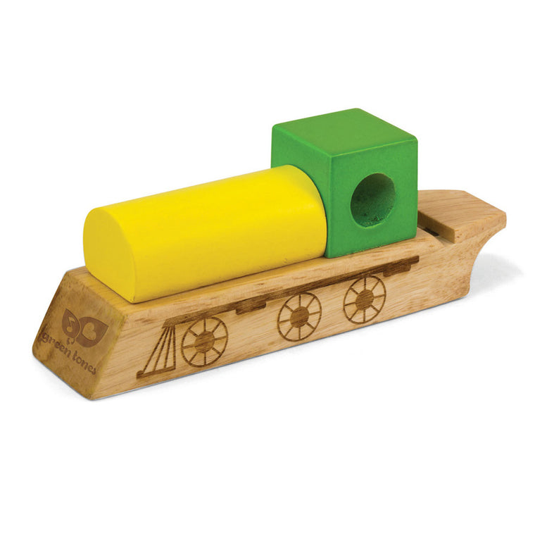 Green Tones Whistle - Train - Music Play - The Modern Playroom