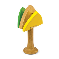 Green Tones Triangle Castanet - Music Play - The Modern Playroom